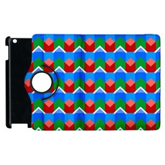 Shapes rows 			Apple iPad 2 Flip 360 Case by LalyLauraFLM