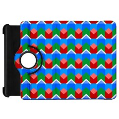 Shapes Rows kindle Fire Hd Flip 360 Case by LalyLauraFLM