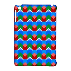 Shapes rows Apple iPad Mini Hardshell Case (Compatible with Smart Cover) by LalyLauraFLM