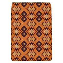 Brown Leaves Pattern 			removable Flap Cover (l) by LalyLauraFLM