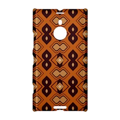 Brown Leaves Pattern 			nokia Lumia 1520 Hardshell Case by LalyLauraFLM