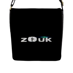 Zouk Dance Flap Messenger Bag (l)  by LetsDanceHaveFun