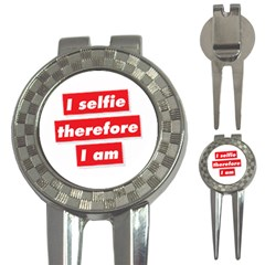 I Selfie Therefore I Am 3-in-1 Golf Divots by theimagezone
