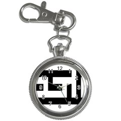 Black And White Key Chain Watches by timelessartoncanvas