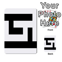 Black And White Multi Purpose Cards (rectangle)  by timelessartoncanvas