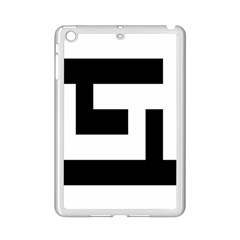 Black And White Ipad Mini 2 Enamel Coated Cases by timelessartoncanvas
