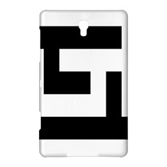 Black And White Samsung Galaxy Tab S (8 4 ) Hardshell Case  by timelessartoncanvas