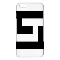 Black And White Iphone 6 Plus/6s Plus Tpu Case by timelessartoncanvas