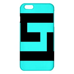 Black And Teal Iphone 6 Plus/6s Plus Tpu Case by timelessartoncanvas