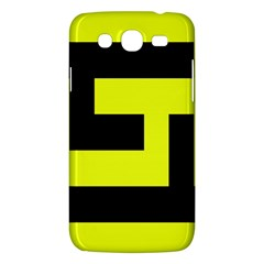 Black And Yellow Samsung Galaxy Mega 5 8 I9152 Hardshell Case  by timelessartoncanvas