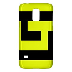 Black And Yellow Galaxy S5 Mini by timelessartoncanvas