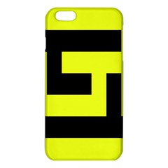 Black And Yellow Iphone 6 Plus/6s Plus Tpu Case by timelessartoncanvas