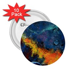 Space Balls 2.25  Buttons (10 pack)  by timelessartoncanvas