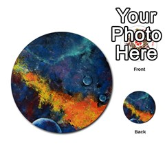 Space Balls Multi Purpose Cards (round)  by timelessartoncanvas