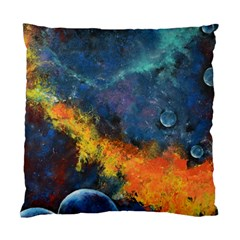 Space Balls Standard Cushion Case (two Sides) by timelessartoncanvas