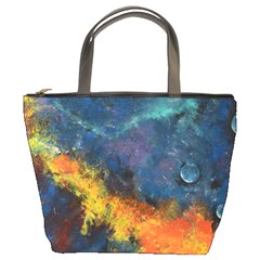 Space Balls Bucket Bags by timelessartoncanvas