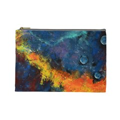 Space Balls Cosmetic Bag (large)  by timelessartoncanvas