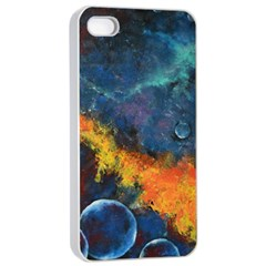 Space Balls Apple Iphone 4/4s Seamless Case (white) by timelessartoncanvas