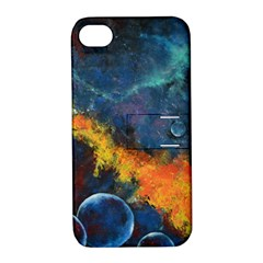 Space Balls Apple Iphone 4/4s Hardshell Case With Stand by timelessartoncanvas