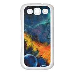 Space Balls Samsung Galaxy S3 Back Case (white) by timelessartoncanvas