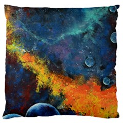 Space Balls Standard Flano Cushion Case (one Side) by timelessartoncanvas