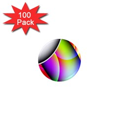 Psychedelic Design 1  Mini Magnets (100 Pack)  by timelessartoncanvas