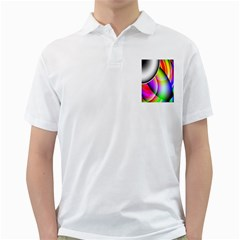 Psychedelic Design Golf Shirts by timelessartoncanvas