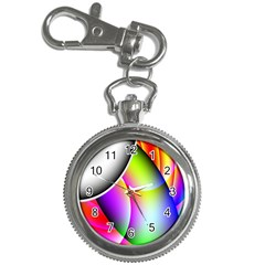 Psychedelic Design Key Chain Watches by timelessartoncanvas