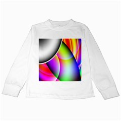 Psychedelic Design Kids Long Sleeve T-Shirts by timelessartoncanvas