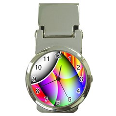 Psychedelic Design Money Clip Watches by timelessartoncanvas