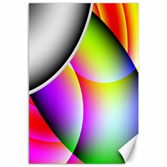 Psychedelic Design Canvas 12  X 18   by timelessartoncanvas