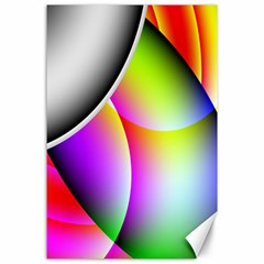 Psychedelic Design Canvas 24  X 36  by timelessartoncanvas