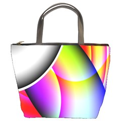 Psychedelic Design Bucket Bags by timelessartoncanvas