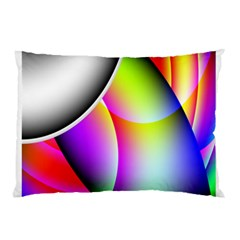 Psychedelic Design Pillow Case by timelessartoncanvas
