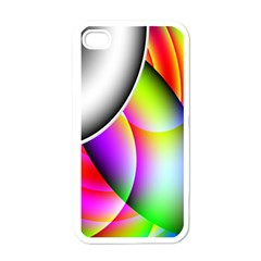Psychedelic Design Apple Iphone 4 Case (white) by timelessartoncanvas