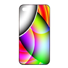 Psychedelic Design Apple Iphone 4/4s Seamless Case (black) by timelessartoncanvas