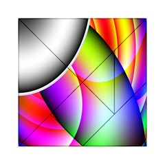 Psychedelic Design Acrylic Tangram Puzzle (6  x 6 ) by timelessartoncanvas