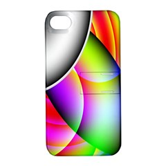 Psychedelic Design Apple Iphone 4/4s Hardshell Case With Stand by timelessartoncanvas