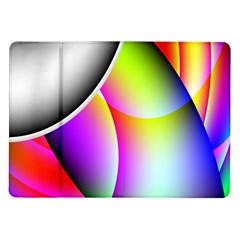 Psychedelic Design Samsung Galaxy Tab 10 1  P7500 Flip Case by timelessartoncanvas