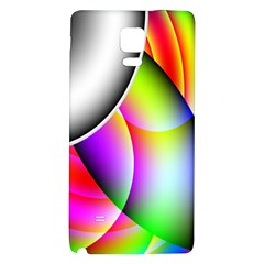 Psychedelic Design Galaxy Note 4 Back Case by timelessartoncanvas