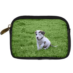 Pit Bull T Bone Puppy Digital Camera Cases by ButThePitBull
