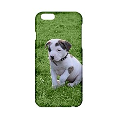 Pit Bull T Bone Puppy Apple Iphone 6/6s Hardshell Case by ButThePitBull