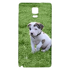 Pit Bull T Bone Puppy Galaxy Note 4 Back Case by ButThePitBull