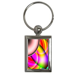 Colorful 1 Key Chains (rectangle)  by timelessartoncanvas