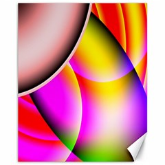 Colorful 1 Canvas 11  X 14   by timelessartoncanvas