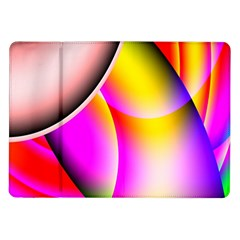 Colorful 1 Samsung Galaxy Tab 10 1  P7500 Flip Case by timelessartoncanvas