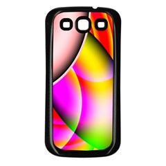Colorful 1 Samsung Galaxy S3 Back Case (black) by timelessartoncanvas