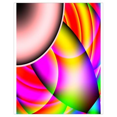 Colorful 1 Drawstring Bag (small) by timelessartoncanvas