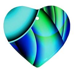New 2 Ornament (heart)  by timelessartoncanvas