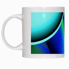 New 2 White Mugs by timelessartoncanvas